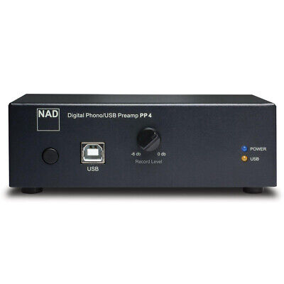 NAD Electronics PP 4 Phono to USB Preamplifier