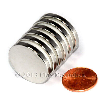 N52 Neodymium Magnets Dia 1x18 Strong Ndfeb Rare Earth Magnets 6-count
