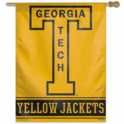 Georgia Tech House Flag (Georgia Tech Vault Throwback Retro Vintage House Flag and Banner)