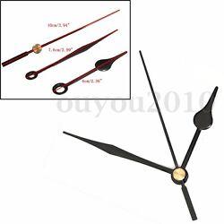 Quartz Clock Movement Mechanism Black Hands DIY Wall Clock Repair Parts Kit  -