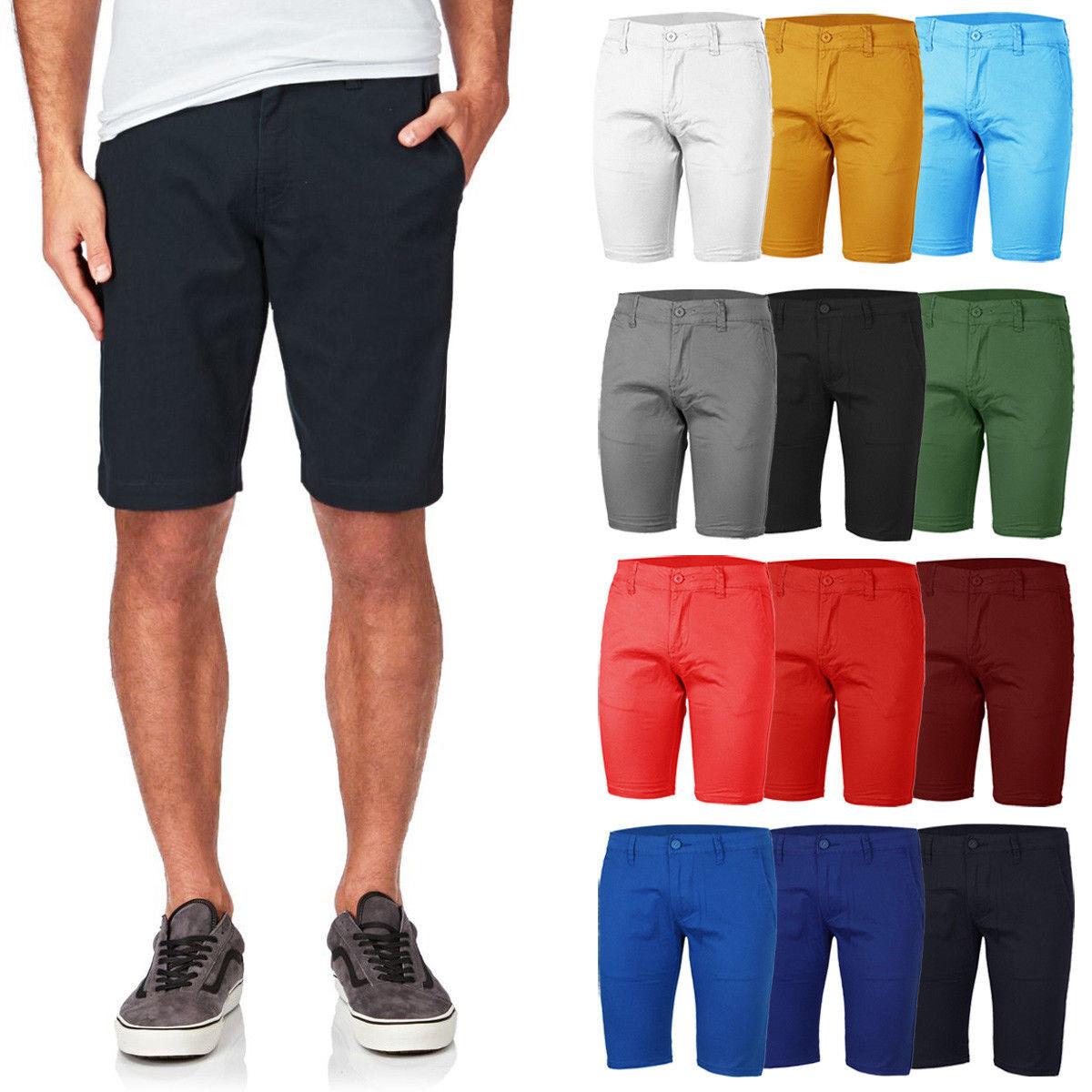 Pantalone Uomo Jeans Corto Cotone Bermuda Shorts Pantaloncino Casual Da 42 54