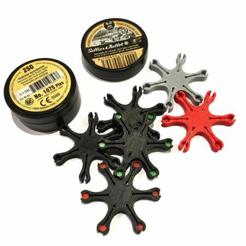 Capper for Muzzleloaders - Percussion Cap Holder - Black Powder Capper