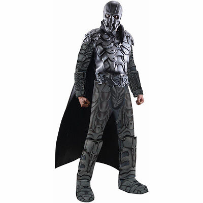 Man Of Steel Zod Kostüme (Man of Steel Superman General Zod Deluxe Adult Muscle Costume Rubies 887160)