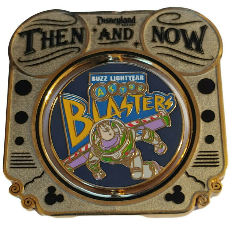 Disney Pin DLR Then & Now Buzz Lightyear Astro Blasters Circle Vision 360 LE