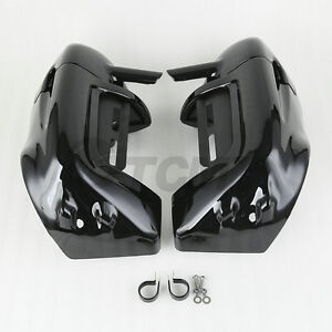 Lower Vented Leg Fairing Glove Box For Harley Touring Electra Street Glide 83-13