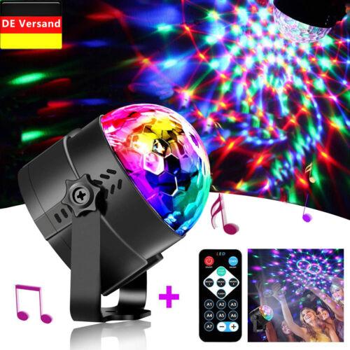 LED Licht Lichteffekte Discokugel Partybeleuchtung Strahler Bühnenbeleuchtung EU
