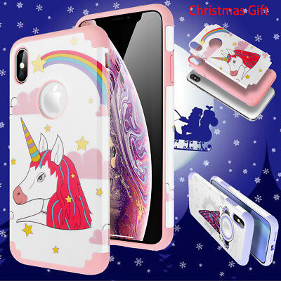 Christmas Gift Case For iPhone Xs Max Girly Unicorn Cute Shockproof Slim Cover](Girly Gifts)