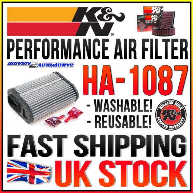K&N HA-1087 Performance Air Filter 1991 HONDA CBR1000F 1006 - All
