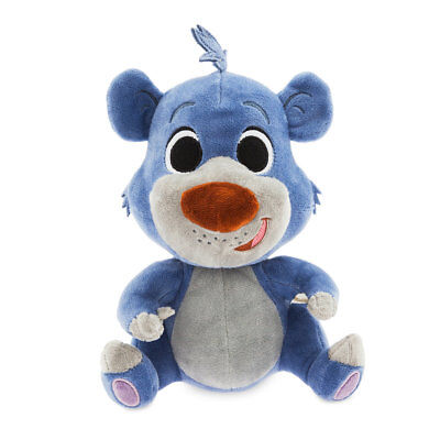 DISNEY STORE FURRYTALE FRIENDS PLUSH JUNGLE BOOK BALOO FLEXIBLE EARS & LIMBS