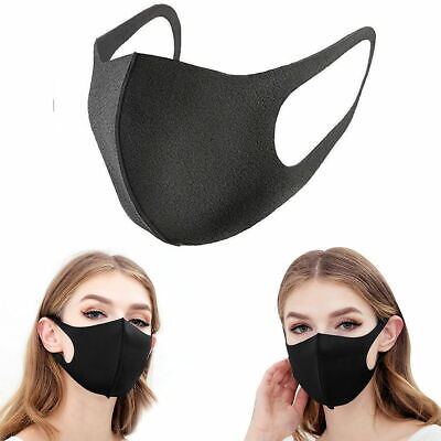 3x Washable Earloop Masks Anti Dust Cycling Mouth Face Mask Surgical Respirator