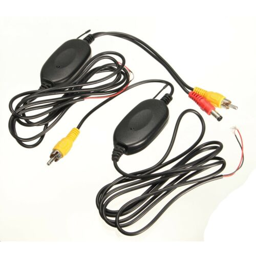 New 2.4G Wireless Car Rear View Video Transmitter + Night Vision Parking Camera