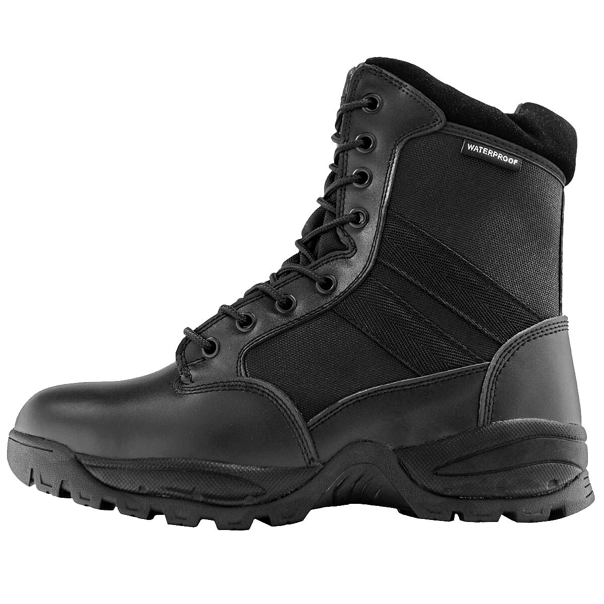 Maelstrom® TAC FORCE 8'' Men's Black Waterproof Insulated Boots with Zipper 1