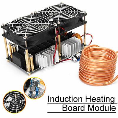 2500w Zvs Induction Heating Board Module Flyback Driver Heater Tesla Coil Fan
