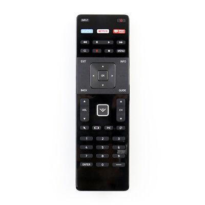 US New VIZIO XRT122 TV Remote Control with XUMO NETFLIX IHEARTRADIO Shortcut Key
