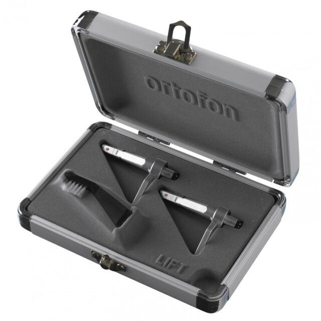 Ortofon Concorde Pro Silber Twin Set (2x System + Nadel + Bürste) NEU+OVP!