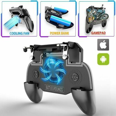 Mobile Phone Game Controller Joystick Cooling Fan Gamepad for PUBG IOS Android