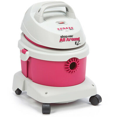 Shop-Vac 5895200 2-1/2-Gallon 2-1/2-HP All Around EZ Portable Wet Dry (1 Gallon Shop Vacuum)