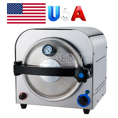 Dental Lab Autoclave Steam Sterilizer Medical Sterilization 14l Ups