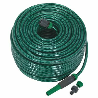 Sealey GH80R Garden Water Hose 80mtr with Fittings