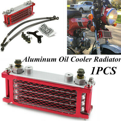 For 50 70 90 110CC Dirt Pit Bike Racing Motorcycle Aluminum Oil Cooler Radiator