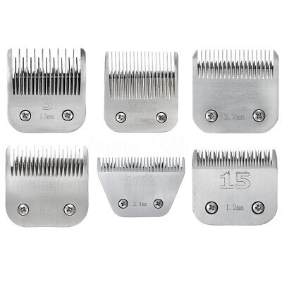 Pet Dog Clipper Blades Replacement Grooming Trimmer Animal Cat Hair Cut Blade