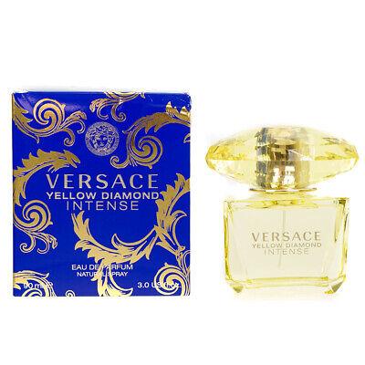 Versace Yellow Diamond Intense 90ml Eau De Parfum EDP Perfume Spray For Her