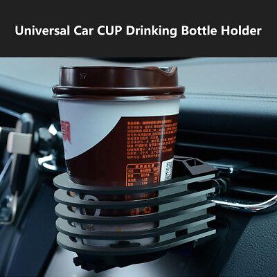 Universal Car Air Vent Aluminium alloy Cup Holder Drinking Bottle Stand Bracket