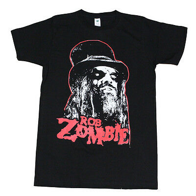 Rob Zombie Men's T-Shirt Black with Red Logo
