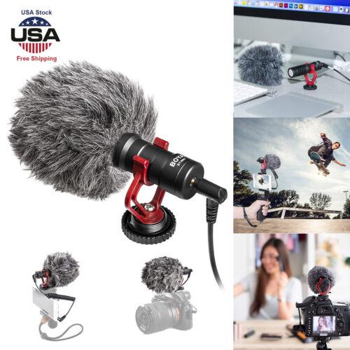 cardiod shotgun microphone mic video for iphone