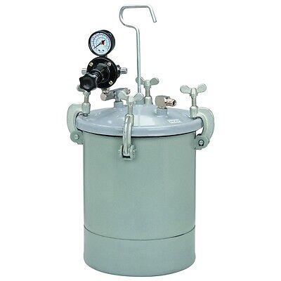 2-12 Gallon Professional Pressure Paint Tank - 30-60psi 14 In-18 Npt - New