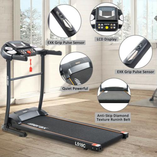 Merax Treadmill Easy Assembly Folding Electric Motorized Run