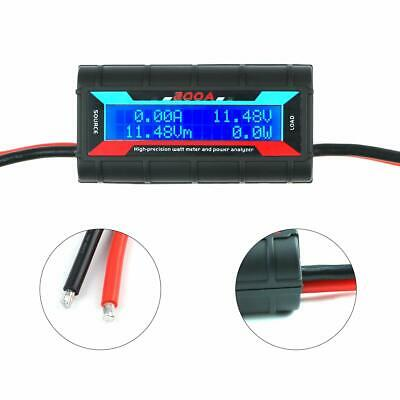 200a Dc Digital Monitor Lcd Volt Amp Watt Meter Rc Battery Solar Power Analyser