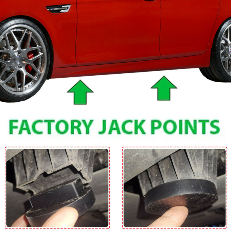 Jacking Point Plug Jack Pad for BMW F13 640d 640i 650i M6 10-on 3.0 4.4 Febi