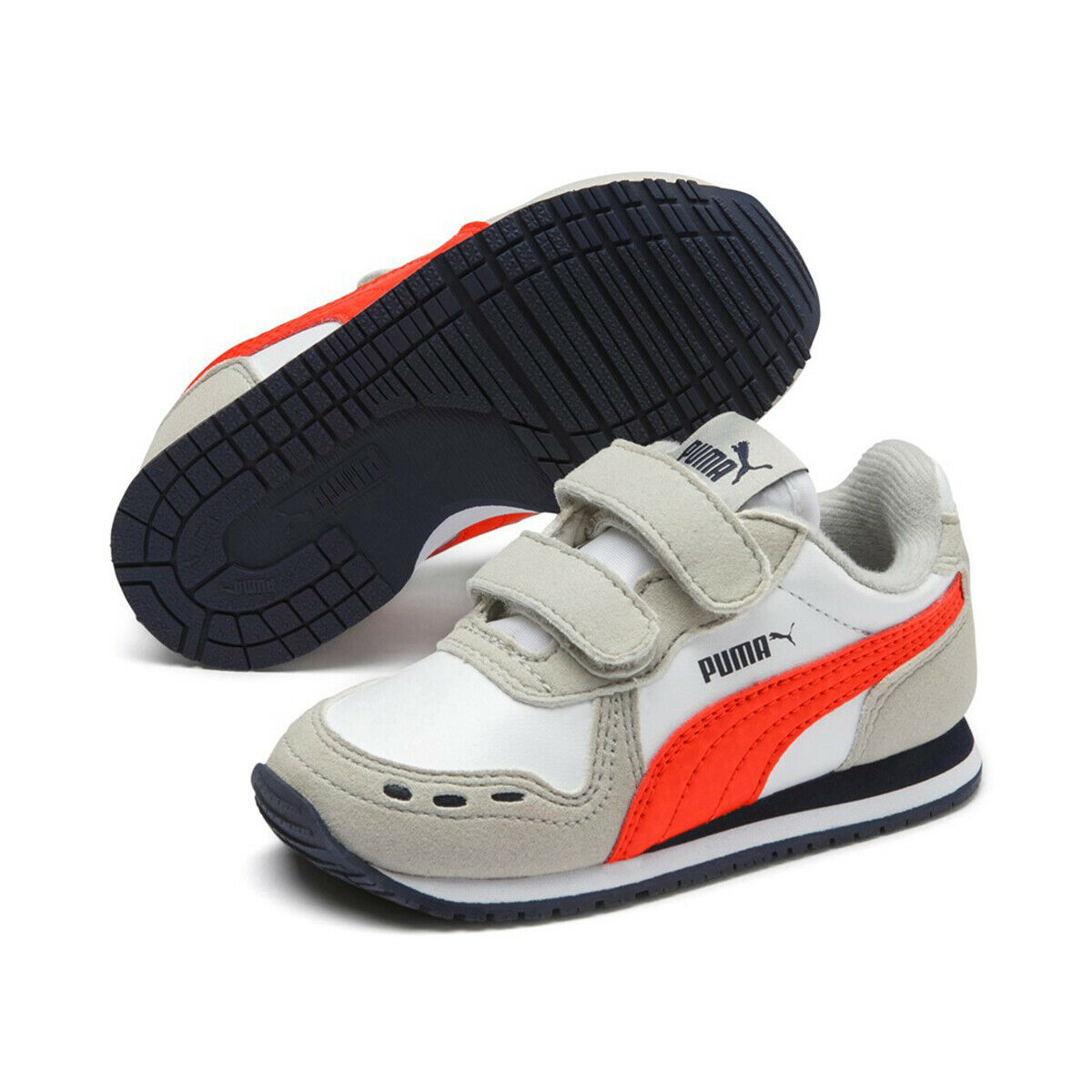 Puma Sneakers dunkelblau weiß Kinder Gr. 27