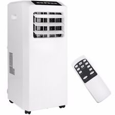 Portable 8000 BTU AC Air Conditioner Dehumidifier Fan A/C Unit with Remote White