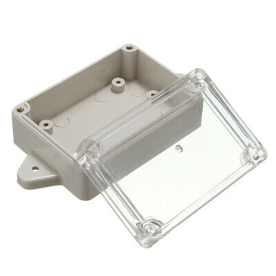 85x58x33mm Plastic Electronic Waterproof Clear Cover Project Box Enclosure Case