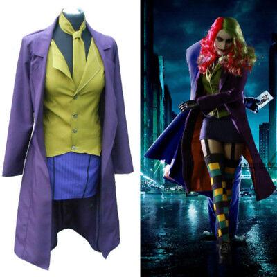 The Jack Female Joker Lady Joker Sexy Dress Uniform Cosplay costume custom - Female Cosplays