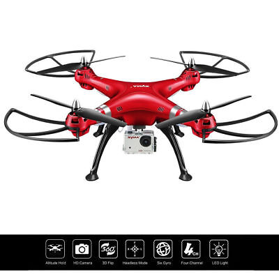 Syma X8HG 2.4Ghz 4CH 6-Axis Gyro RC Quadcopter Drone RTF w/ HD Camera