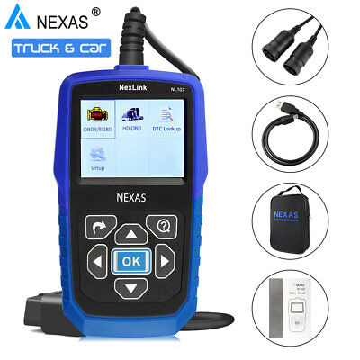 HEAVY DUTY DIESEL TRUCK DIAGNOSTIC SCANNER FOR FREIGHTLINER CUMMINS CODE READER