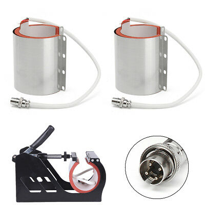 Various Mug Attachment 11oz Latte Heat Press Transfer Machine Stainless Steel