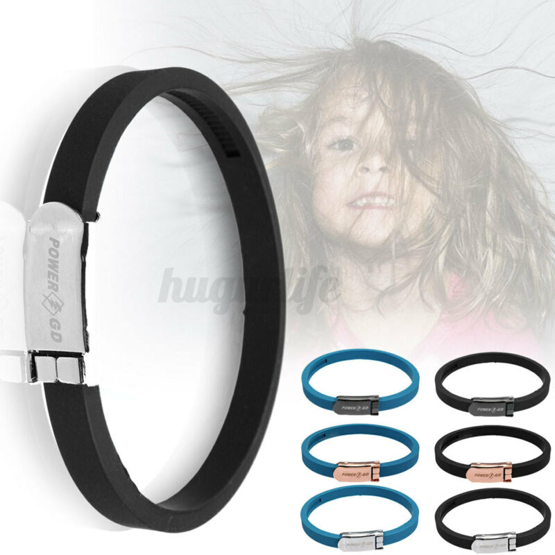 Sport ANTI STATIC titanium Ionic Magnetic Bracelet Band 4000ion/cm3