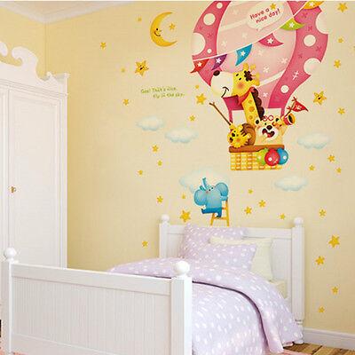 giraffe friends Removable Art Vinyl Decal Stickers Kids Room Home Wall Sticker