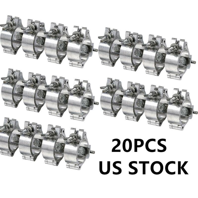 20PCS Stage Par Light Clamps Hook Aluminum Alloy Truss O-Clamp Heavy Duty 220LBs