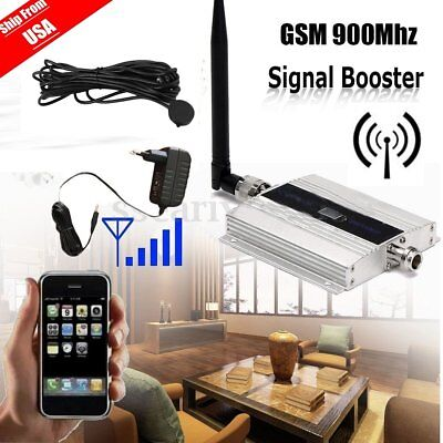 900MHz Mobile Cell Phone Antenna Amplifier Signal Booster GSM Repeater MA