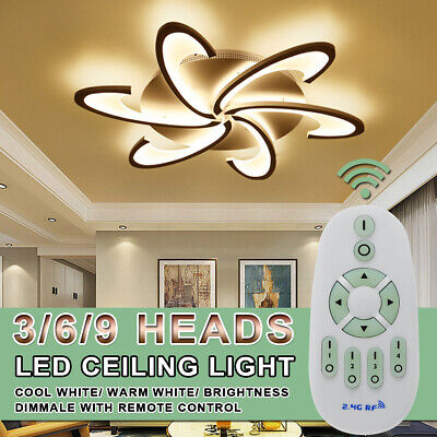LED Modern Ceiling Light For Living Dining Room Bedroom Lustres Led Chandelier Dining Room Lighting