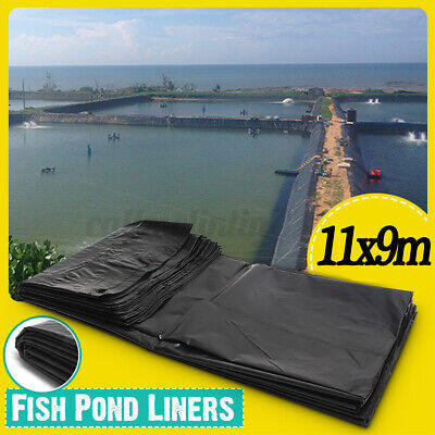 9x11M Fish Pond Liner Garden Pond Pool Landscaping Plastic Thick Waterproof