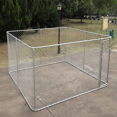 Dog Kennel Pens Fences Outdoor Pet Puppy Cage Large  10' x 10'x6'