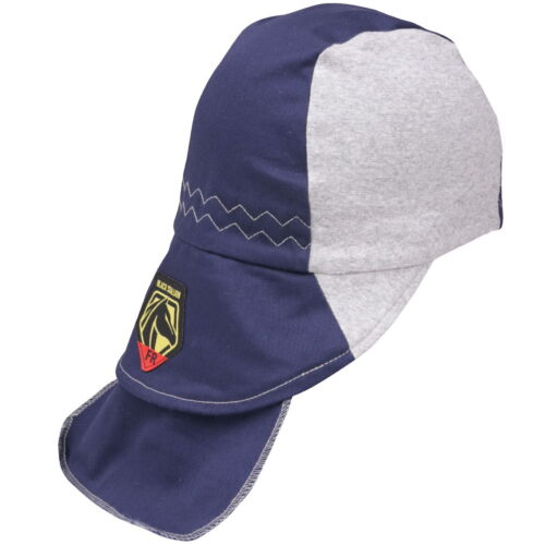 Revco Black Stallion Navy/Gray FR Cotton Welding Cap (Medium) (AH1630-NG)