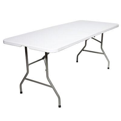 Tisch klappbar Buffettisch Klapptisch Esstisch Gartentisch Campingtisch 180 cm