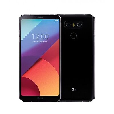 New Other LG G6 H872 32GB T-Mobile Simple Family Go Smart Ultra Smartphone Black